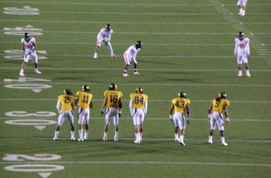 College football kickoff