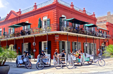 New Orleans tricycles