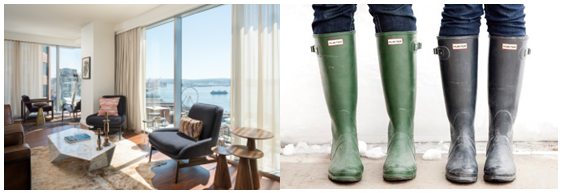 Hunter Boots Concierge At Thompson Seattle